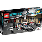 more details on LEGO Speed Champions McLaren Mercedes Pit Stop - 75911.
