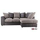 more details on Annabelle Fabric/LE Regular Right Hand Corner Sofa-Charcoal.