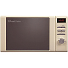 more details on Russell Hobbs Heritage 2064C 20L Solo Microwave - Cream.