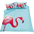 more details on Flamingo Bedding Set - Double.