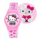 more details on Girl's Hello Kitty Watch and Plush Set