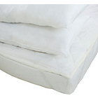 more details on Memory Foam Topper 4 Pillows & Protector Set - Kingsize.