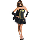 more details on DC Justice League Batgirl Corset Costume - Size 6-8.