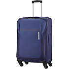 more details on American Tourister Spinner Medium 4 Wheel Suitcase - Blue.