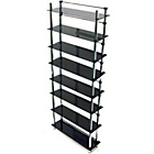 more details on 8 Tier Display Media Store - Black/Chrome.