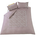 more details on Heart of House Delilah Dusky Heather Bedding Set - Double.