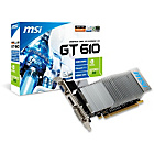 more details on MSI NVIDIA GeForce GT610 2GB HDMI DDR3 Graphics Card.