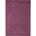more details on Heart of House Arden Wool Rug - 180 x 120cm - Plum.