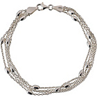 more details on Adoration Sterling Silver Multistrand Beaded Bracelet.