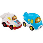 more details on VTech Toot Toot Drivers Twin Pack - White Racer.