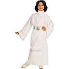 more details on Child's Princess Leia Fancy Dress Costume - Small.