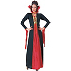 more details on Halloween Gothic Vampiress Costume - Size 16-18.