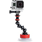 more details on Joby Suction Cup and GorillaPod Arm.
