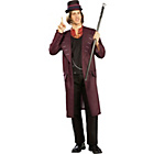 more details on Charlie & the Chocolate Factory Willy Wonka Costume 38-42in.