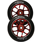 more details on Pair of Razor Scooter Wheels with ABEC9 Bearings - Red.