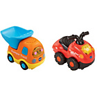 more details on VTech Toot Toot Drivers Twin Pack - Dumper Truck.