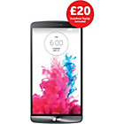 more details on LG Vodafone G3 Mobile Phone - Black.