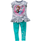 more details on Disney Frozen Girls' Turquoise Top and Leggings Set.