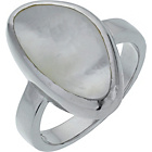 more details on Sterling Silver White Mother of Pearl Ring.