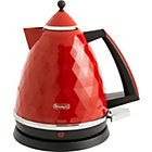 more details on De Longhi Brilliante Kettle - Red.
