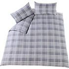 more details on Heart of House Rufus Dove Grey Bedding Set - Kingsize.