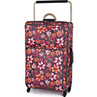 more details on IT Luggage World's Lightest Large 4 Wheel Suitcase - Floral.