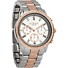 more details on Lipsy Ladies' Two Tone Stone Bracelet Watch.