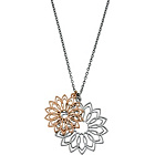 more details on Fiorelli Two Tone Floral Necklace.