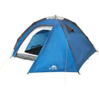 Trespass Rapid Pop Up 4 Person Tent (Blue)