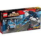 more details on LEGO Super Heroes Avengers Quinjet City Chase - 76032.