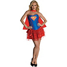 more details on DC Justice League Supergirl Corset Costume - Size 6-8.