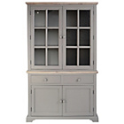 more details on Fairview 4 Door 2 Drawer Display Cabinet - Grey.