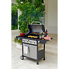 more details on Deluxe 4 Burner Gas BBQ with Cover - Express Delivery.