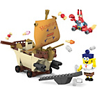 more details on Mega Bloks Spongebob Squarepants Movie Burger Mobile.