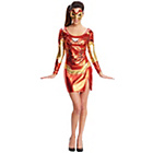 more details on Marvel Avengers Miss Iron Man Costume - Size 8-10.