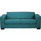 more details on New Ava Large Fabric Sofa - Teal.