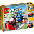 more details on LEGO® Creator Red Go-Kart - 31030.