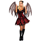 more details on Halloween Vampire Fairy Costume - Size 6-8.