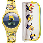 more details on Unisex Minions Digi Watch & Case Set