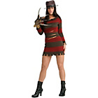 more details on Halloween Miss Krueger Costume - Size 16-18.