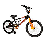 more details on Silverfox Resistance 20 Inch Black & Orange BMX Bike -Boys'.