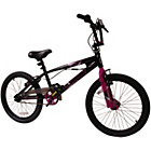 more details on Silverfox Limitless 20 Inch Black & Pink BMX Bike - Girls'.