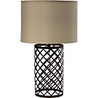 more details on Faro Fretwork Table Lamp - Bronze.
