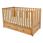 more details on East Coast Nursery Langham Nuovo Cot & Drawer.