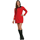 more details on Star Trek Deluxe Uhura Red Dress - Size 10-12.