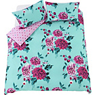 more details on Liberty Blue Bold Floral Bedding Set - Double.
