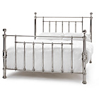 more details on Banning King Size Bed Frame - Nickel.