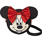 more details on Disney Minnie Mouse Cross Body Fashion Bag - Red and Black.