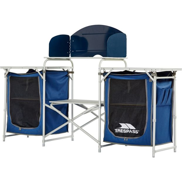 Buy trespass folding camping kitchen at your for Kitchen set argos