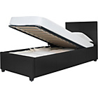 more details on Hygena Dara Single Ottoman Bed Frame - Black.